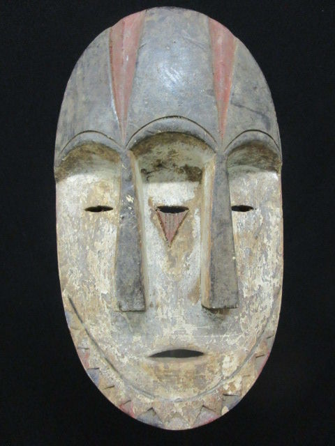 Mask with Three Faces - Lengola - D.R Congo