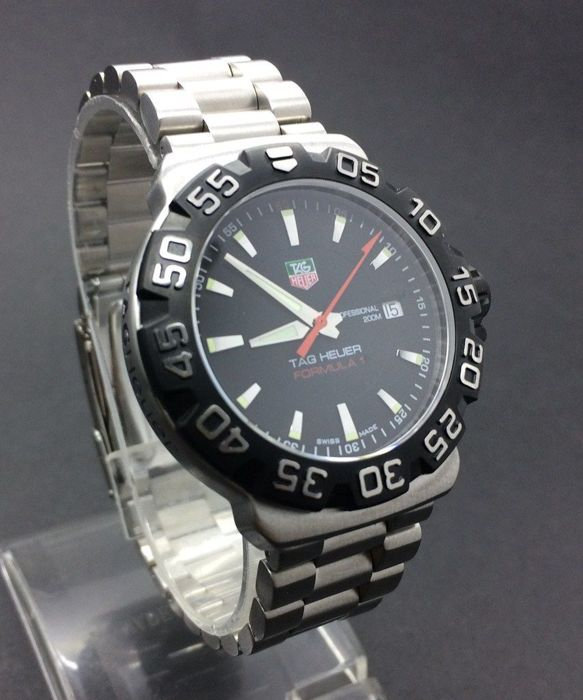 TAG Heuer - Formula 1 Professional Black - WAH1110.BA0850 - Men - 2000-2010