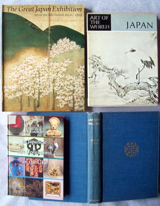 Lot of four books on Japanese arts and architecture - 1931-2004
