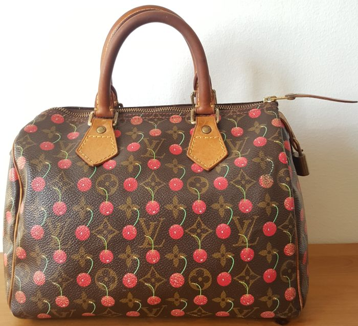 6c1ee9fbab0e99 Louis Vuitton - Cerises Cherry Speedy 25 Limited Edition Handbag ...