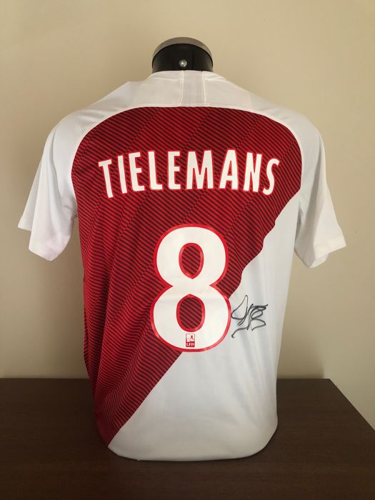 AS Monaco - Franse voetbal competitie - Youri Tielemans - 2018 - Jersey(s)