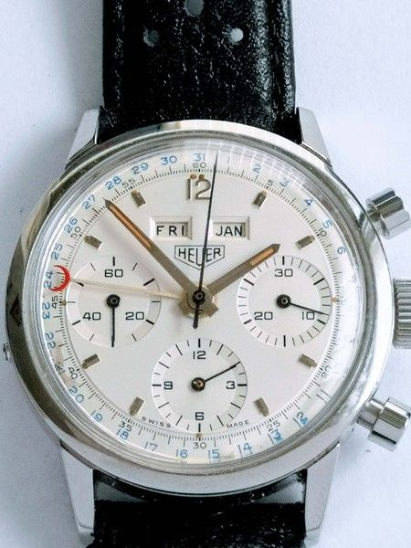Heuer - Carrera 12 Dato ref. 2547S triple calendar chrono - 2547 S - Men - 1960-1969