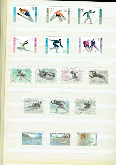 Various countries 1956/1998 - Olympic Winter Games