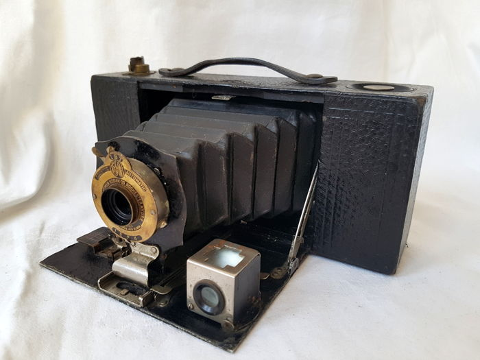Kodak No. 2A Folding Pocket Brownie met serienummer
