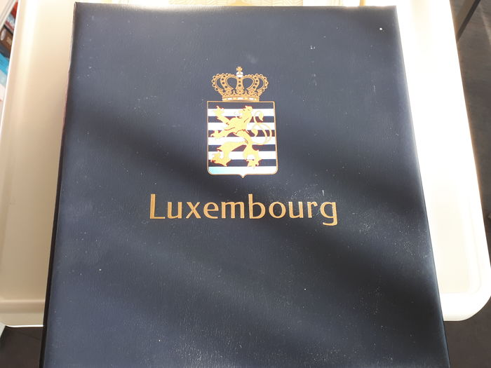 Luxembourg 1852-1959 - Collection in a Davo preprint album with slipcase.