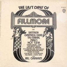 Fillmore - The Last Days 3LP Boxset With Psychedelic Artists.