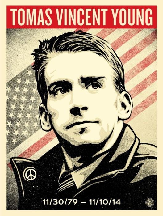 Shepard Fairey (OBEY) - Tribute to Tomas Young