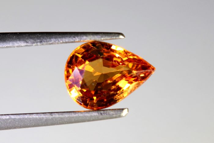 Spessartite Garnet  - 1.34 ct - No Reserve Price