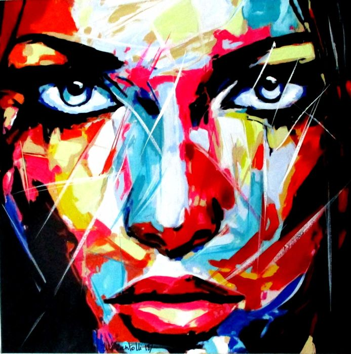 Illi Zantolli - Abstract Popart Girl