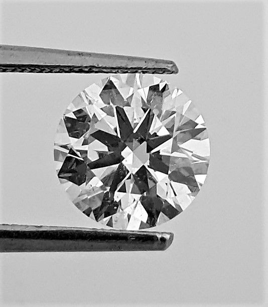 Diamante - 1.80 ct - Brillante - D (incoloro) - VS1