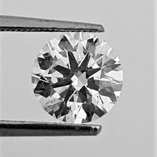 Diamant - 1.80 ct - Brillant - D (farblos) - VS1