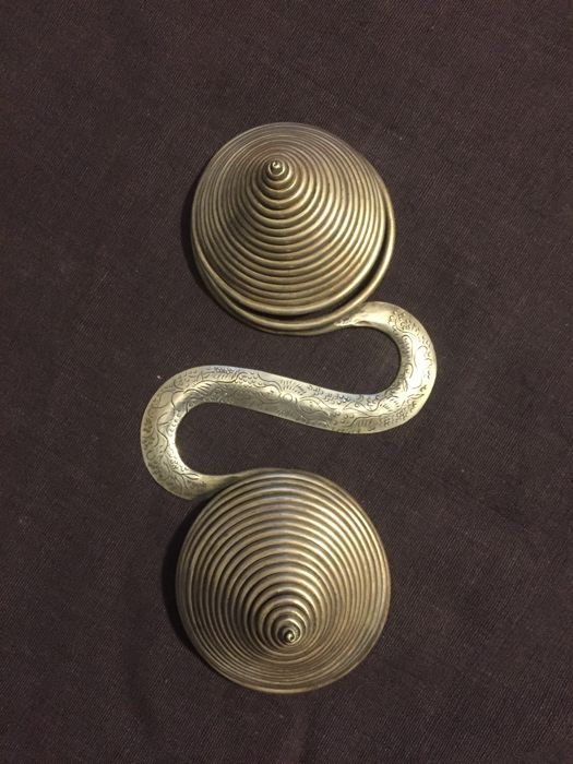 Back ornament - Miao and Dong culture - silver alloy - mid-20th century