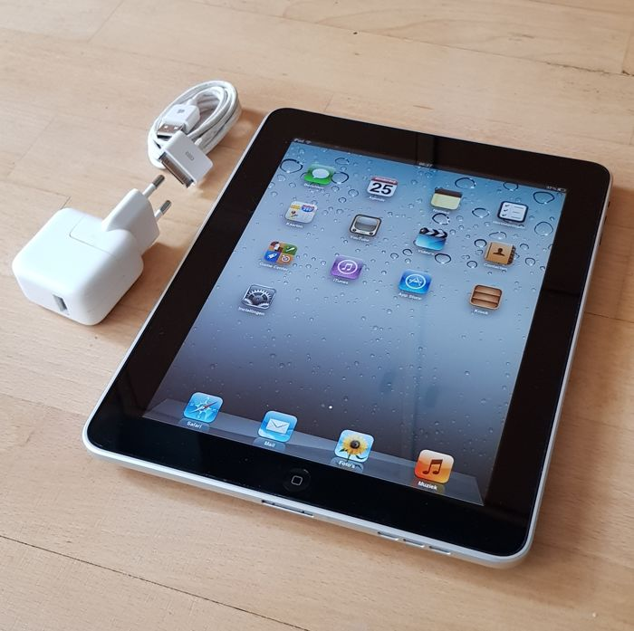 Apple iPad 1 with 16GB (A1219) with original charger.