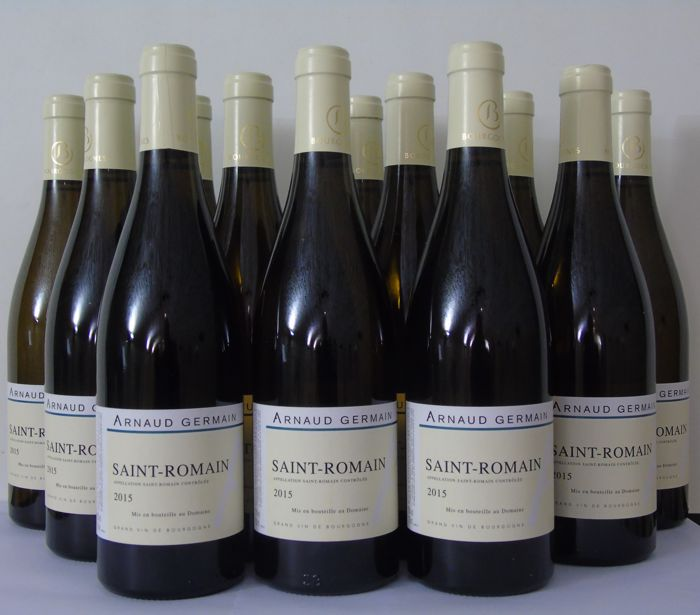 2015 Saint-Romain Domaine Arnaud Germain,  - Bourgogne - 12 Bottle (0.75L)