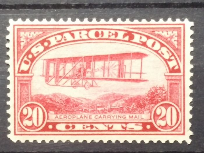 United States of America 1912/1913 - Parcel Post Service 20 c. - Unificato 8