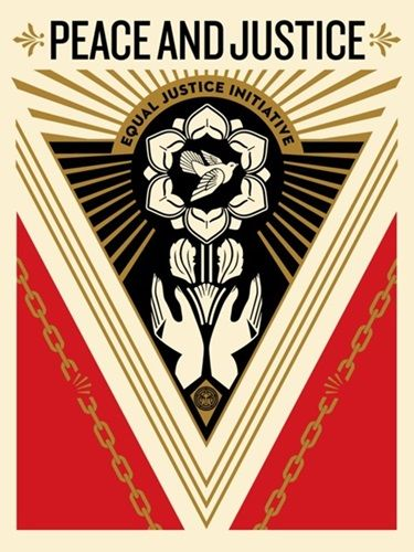 Shepard Fairey (OBEY) - Peace & Justice Summit