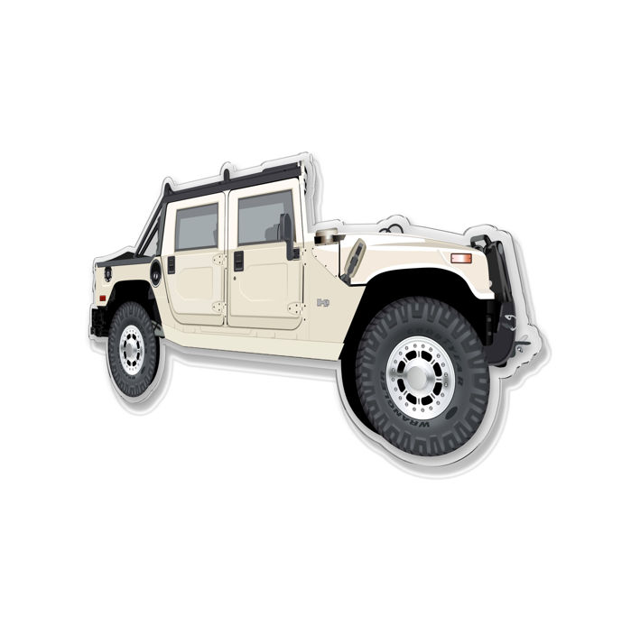 Decoratief object - SL- Halmo Interpretation Hummer H1 - 2018
