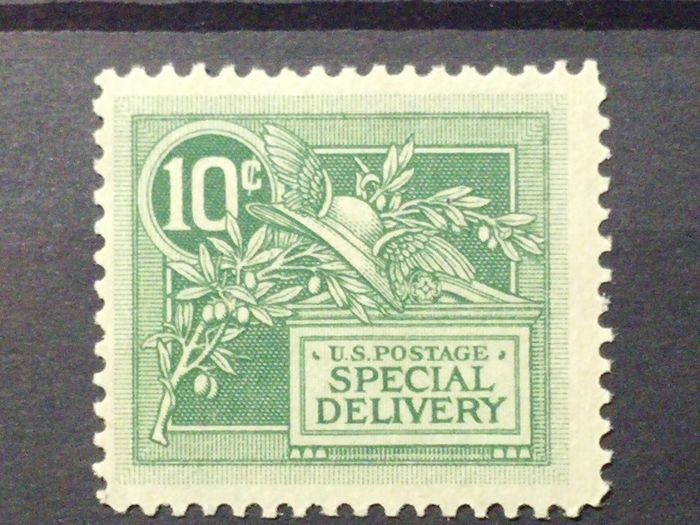 United States of America 1908 - Express Helm of Mercury Special Delivery - Unificato E7