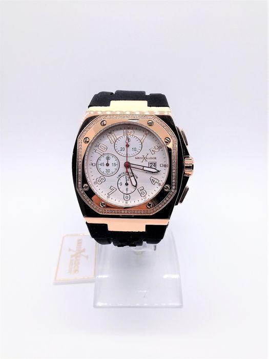 "Kriss Kador - Chrono Limited Edition con Diamanti ""NO RESERVE PRICE"" - kxk2 - Hombre - 2011 - actualidad"