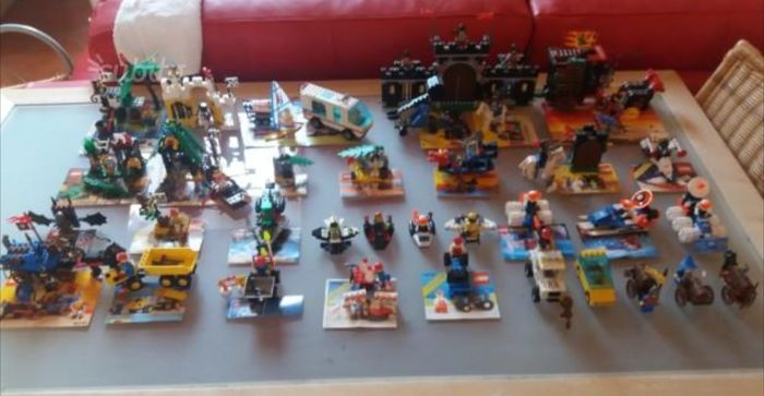 Assortment 45 Lots Of Castle Pirates City Space 1980s1990s