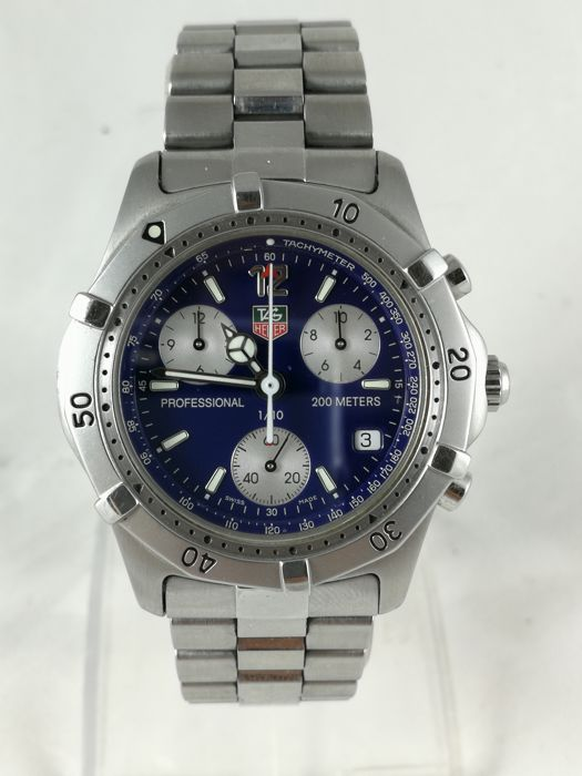 TAG Heuer - 2000 Professional Chronograph - CK1112-0 - Unisex - 1990-1999