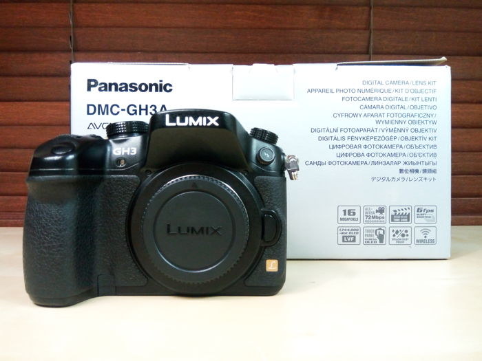 PANASONIC LUMIX DMC - GH3A