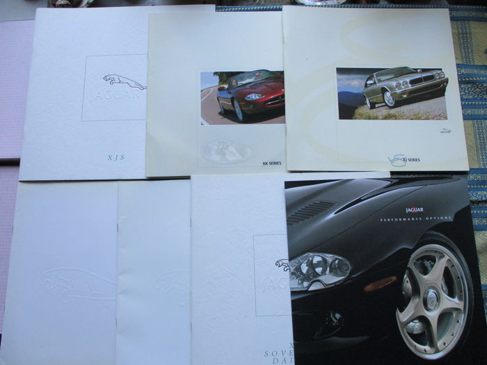 Brochures / Catalogi - Jaguar - 1987-1999 (7 items)