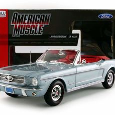 Auto World - 1:18 - Ford Mustang Convertible 1965 - Limited Edition of 1.002 pcs.