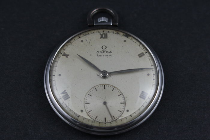 Omega - Pocket Watch - NO RESERVE PRICE - Men - 1901-1949 ... ba7993f857