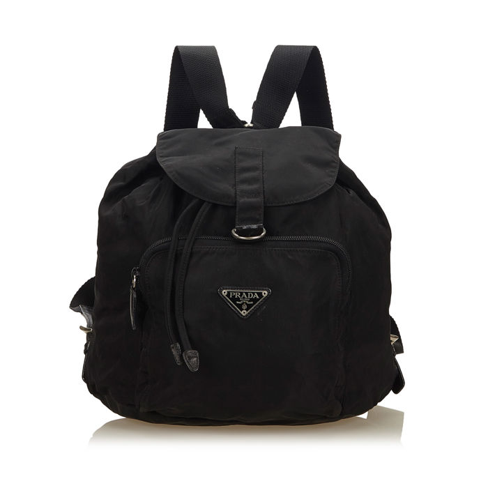 49cd0a9d1c44 Prada - Nylon Drawstring Backpack - Catawiki