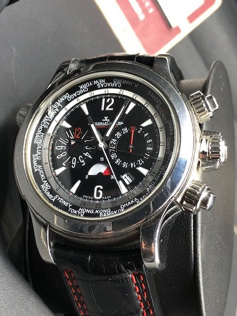 Jaeger-LeCoultre - Master Compressor Extreme World Chronograph - 150.8.22 - Men - 2000-2010