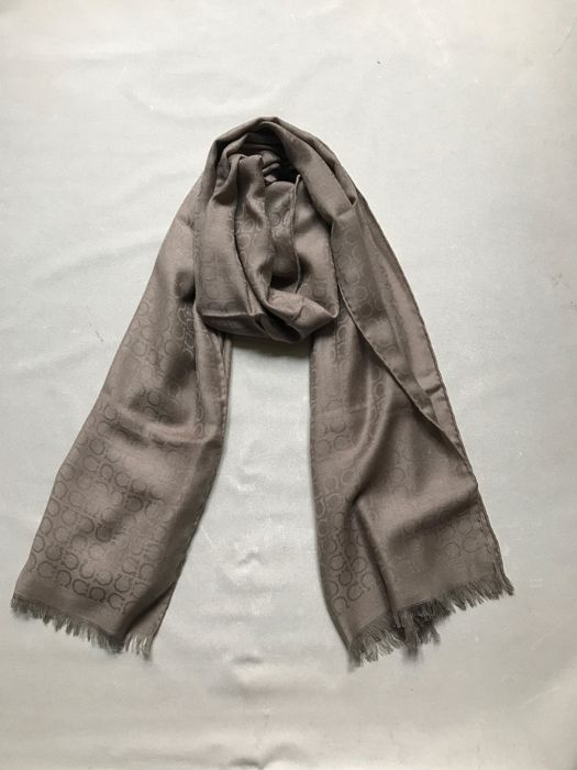 Salvatore Ferragamo men's mixed cashmere scarf