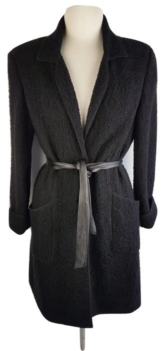 Luisa Spagnoli - long cardigan with belt - Catawiki 071151d8ad8