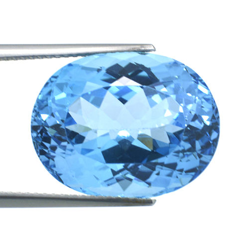Zwitsers blauw Topaas - 23.19 ct