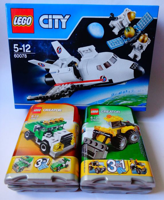 Lego City 600785761 5865 Spaceship Lego City 60078 2x