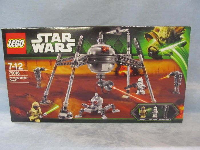 LEGO - Star Wars - 75016 - Spaceship Homing Spider Droid,retired in