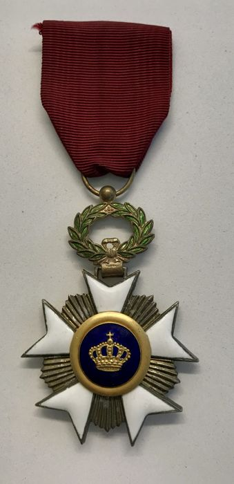 Belgium - Knight in the order of the Crown - Medal - 1970