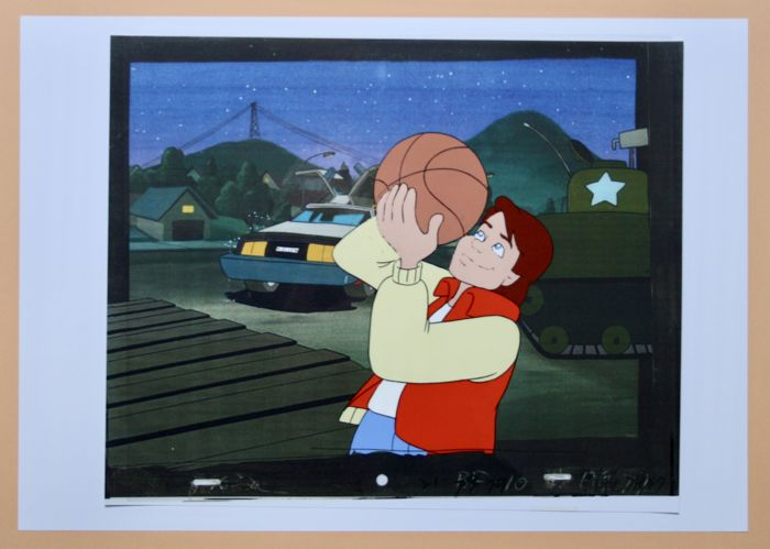 Original Animation Production Cel - Back to the Future - Loose page - Back to the future - (1993/1991)