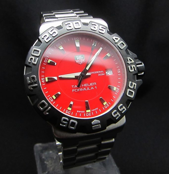 TAG Heuer - Formula 1 Professional Red - WAH1112.BA0850 - Men - 2000-2010