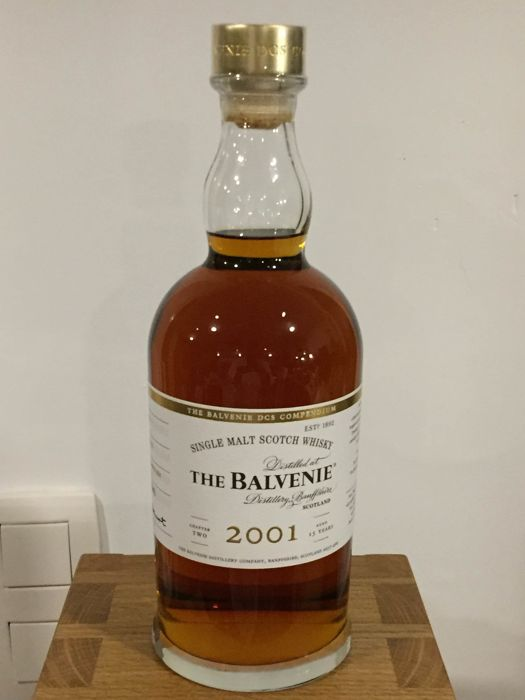 Balvenie 2001 15 years old DCS Compendium Chapter Two - Original bottling - b. 2016 - 70cl
