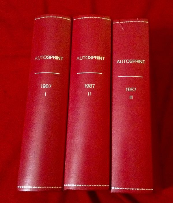 """Autosprint"" Motor Racing Magazine Collection 1987 - F.1, F.2, F.Indy, Sport, Rally, Ferrari, Porsche  - 1987-1987 (50 items)"