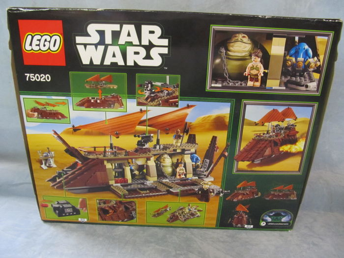 LEGO - Star Wars - 75020 - Sail boat Jabba's Sail Barge retired in