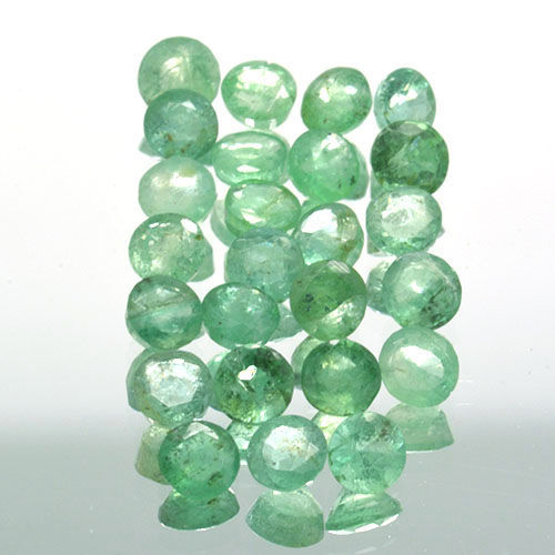 25 Emerald - 4.50 ct. - No Reserve Price