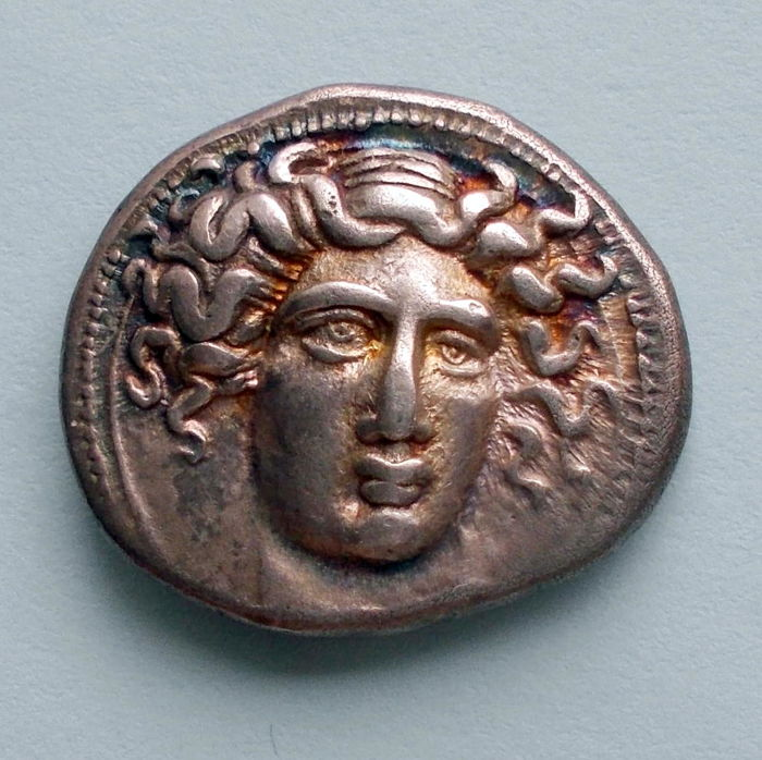 Greece (Ancient) - Thessaly, Larissa. Circa 400-380 BC. AR Drachm.