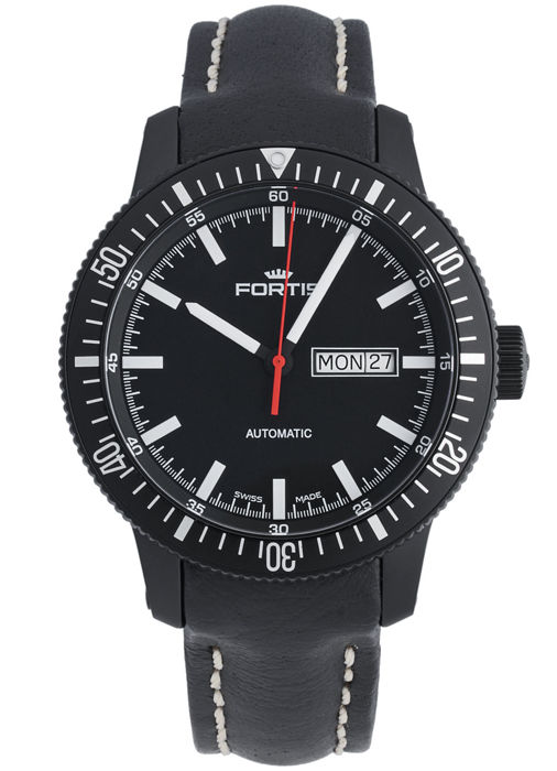 Fortis - B-42 Monolith Day/Date Automatic - 647.18.31 L.01 - Homme - 2011-aujourd'hui