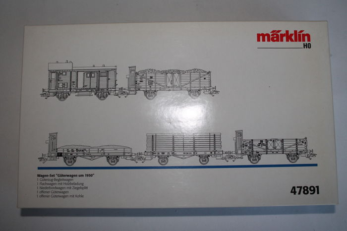 Märklin H0 - 47891 - Freight cars - a set of the DR - Catawiki