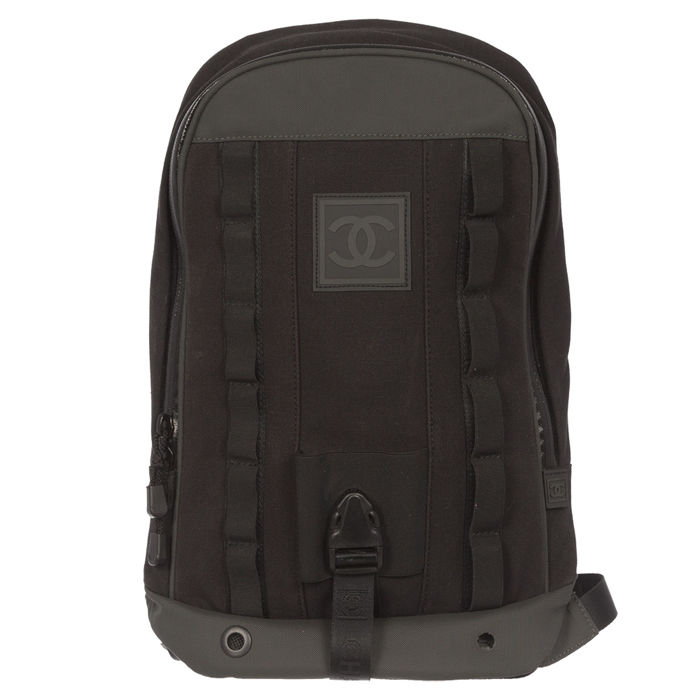 25809a02c Chanel black Sport backpack - Catawiki