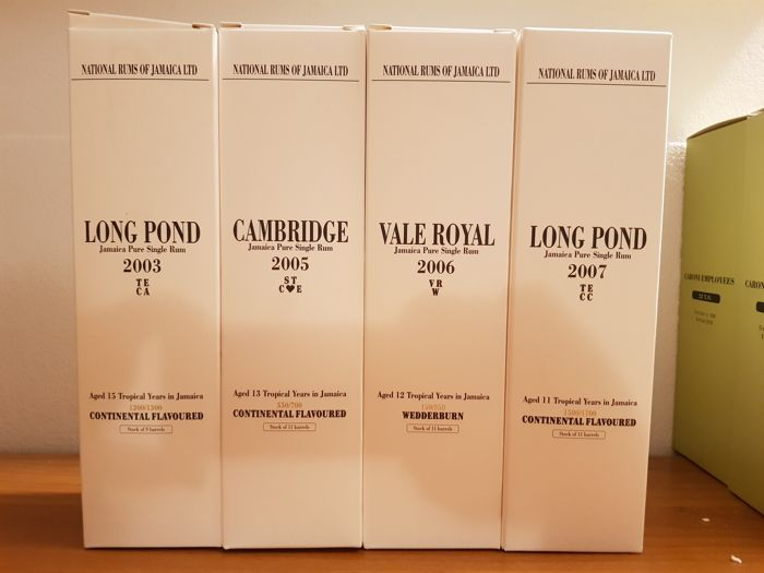 Long Pond Velier - TECA, Cambridge, TECC & Vale Royal - 70cl - 4 bottles