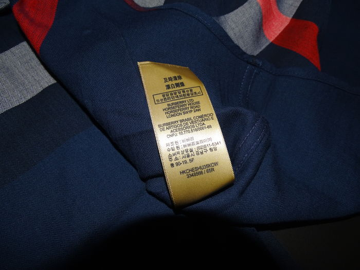 Burberry - Button-down Collar Check Stretch Cotton Blend Shirt ... 743d967d162