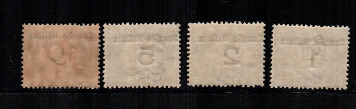 Italian Somalia 1923/1926 - Postage due - New values - Sassone NN. 33/40 - 41/51